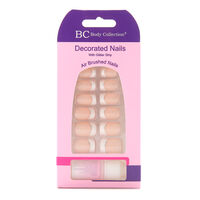Body Collection Decorated Nails with Glitter Strip, , large