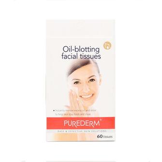 Purederm Oil Blotting Facial Tissues 60pcs, , large