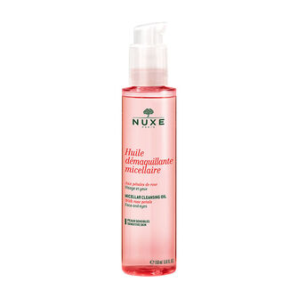 NUXE Micellar Cleansing Oil with Rose Petals 150ml, , large