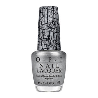 OPI Shatter Nail Lacquer 15ml Silver Shatter (NL E62), , large