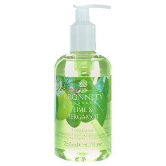 Bronnley Lime & Bergamot Conditioning Hand Wash 250ml, , large