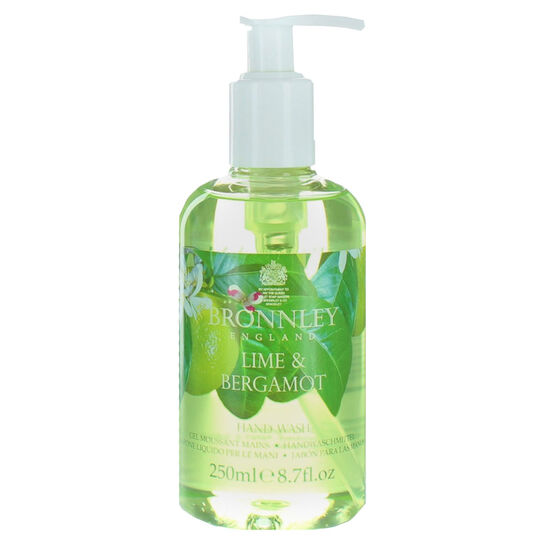 Bronnley Lime & Bergamot Conditioning Hand Wash 250ml, , large
