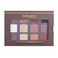 Bellapierre Cosmetics 12 Colour Pro Natural Eye Palette, , large