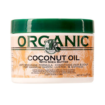 JR Organics Coconut Oil With Shea Butter 227g, , large