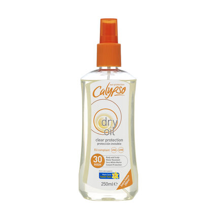 Calypso Clear Protection Dry Oil SPF 10 250ml, , large