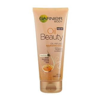 Garnier Body Oil Beauty Nourishing Scrub 200ml, , large