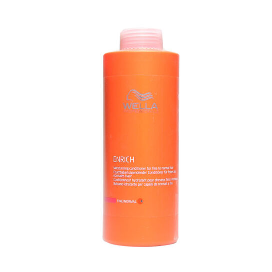 Wella Enrich Conditioner for coarse hair 1000ml, , large