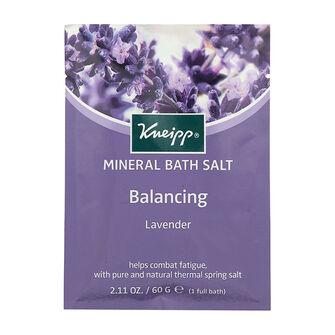 Kneipp Mineral Bath Salt Balancing Lavender 60g, , large