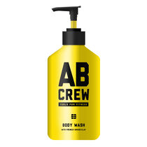 AB CREW Body Wash With French Green Clay 480ml, , large