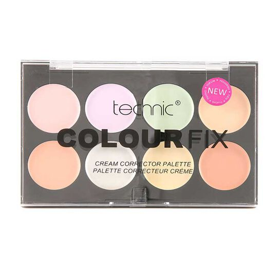 Technic Colour Fix Cream Corrector Pallette 28g, , large