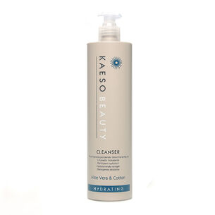 Kaeso Beauty Hydrating Cleanser Aloe Vera And Cotton 495ml, , large