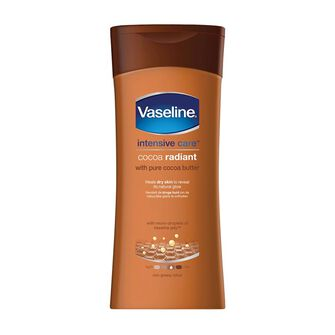Vaseline Intensivel Care Cocoa Radiant Body Lotion 400ml, , large