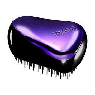 Tangle Teezer Compact Styler Hairbrush Purple Dazzle, , large