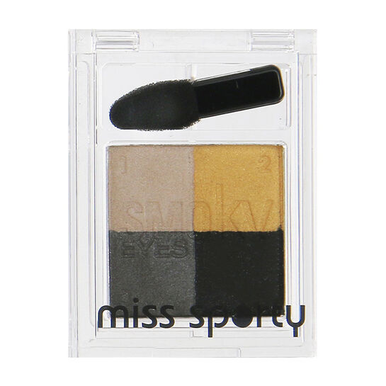 Miss Sporty Smoky Eye Eyeshadow Quad, , large