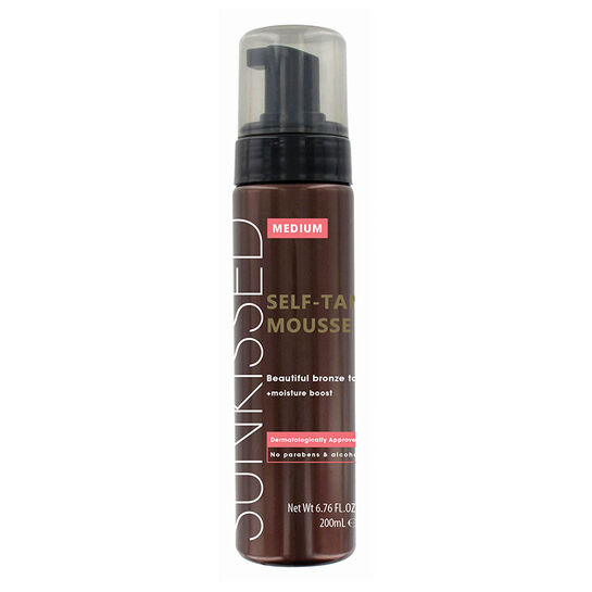 Sunkissed Instant Self Tanning Mousse Medium Bronze 200ml, , large