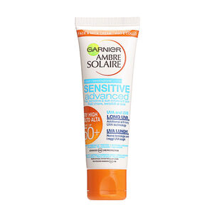 Garnier Ambre Solaire Sensitive Advanced Neck & Face SPF50, , large