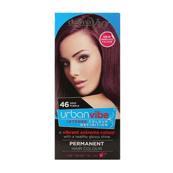 Derma V10 Urban Vibe Hair Colour Deep Purple, , large