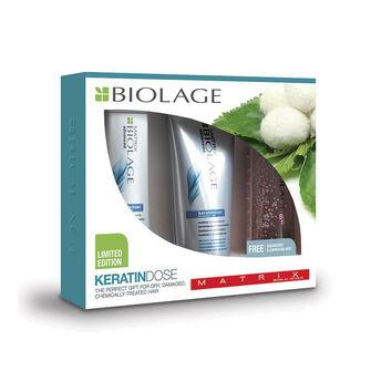 Matrix Biolage KeratinDose Gift Set, , large