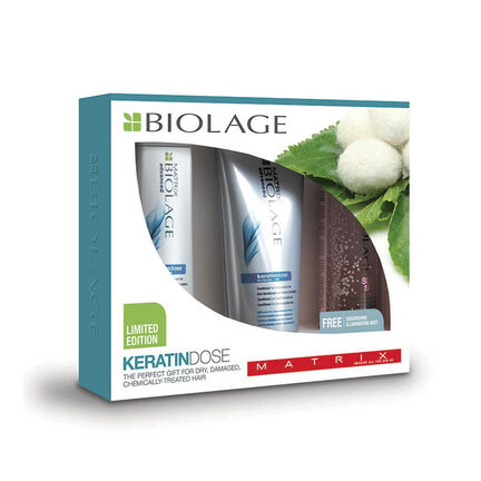 Matrix Biolage KeratinDose Gift Set, , large