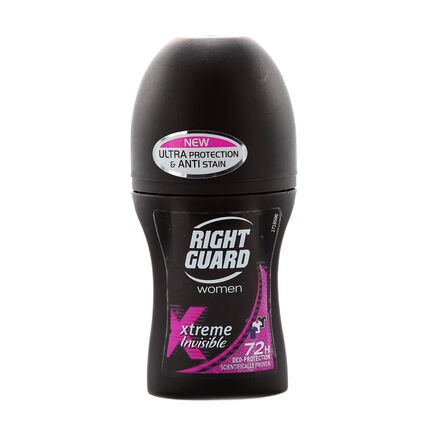 Right Guard Women Xtreme Invisible Roll On 72h 50ml, , large