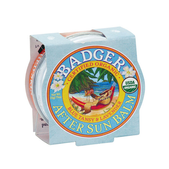 Badger Balm  After Sun Blue Tancy & Lavender 21g, , large