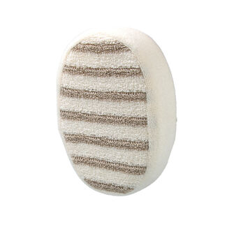 Opal Crafts Striped Exfoliating Sponge, , large