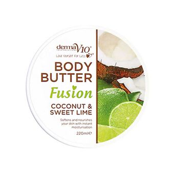 DermaV10 Body Butter Fusion Coconut & Lime 220ml, , large