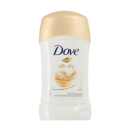 Dove Silk Dry Anti Perspirant Deodorant Stick 40ml, , large