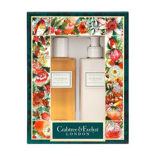 Crabtree & Evelyn Summer Hill Body Care Duo, , large