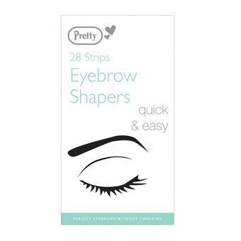 Pretty Pretty Smooth Eyebrow Shapers 28 Wax Strips, , large