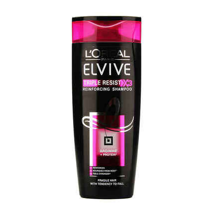 L'Oréal Elvive Triple Resist Reinforcing Shampoo 250ml, , large