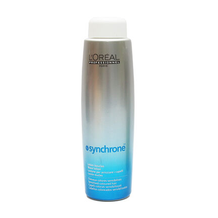 L'Oréal Synchrone Wave Lotion Sensitised Colour Hair 400ml, , large