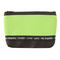 Travel Cosmetics Green Bag, , large
