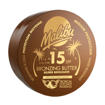 Malibu Bronzing Body Butter SPF 15 250ml, , large