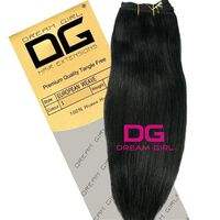 DREAM GIRL Euro Weave Hair Extensions 18 Inch 1, , large