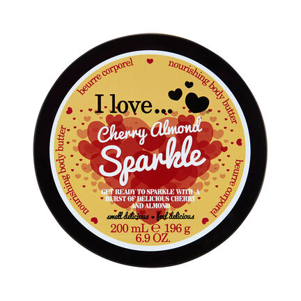 I Love Body Butter Cherry Almond Sparkle 200ml, , large