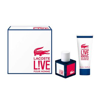 Lacoste Lacoste Live Male Gift Set 40ml, , large