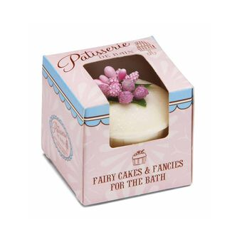 Rose & Co Patisserie De Bain Bath Bomb Strawberry Cupcake, , large