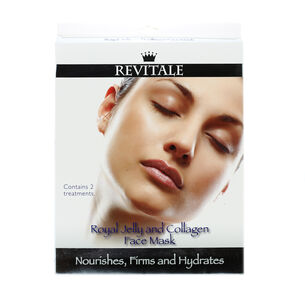 Revitale Royal Jelly and Collagen Face Mask, , large