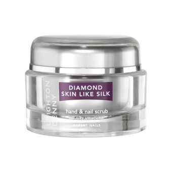 Leighton Denny Diamond Skin Like Silk Hand & Nail Scrub 50g, , large