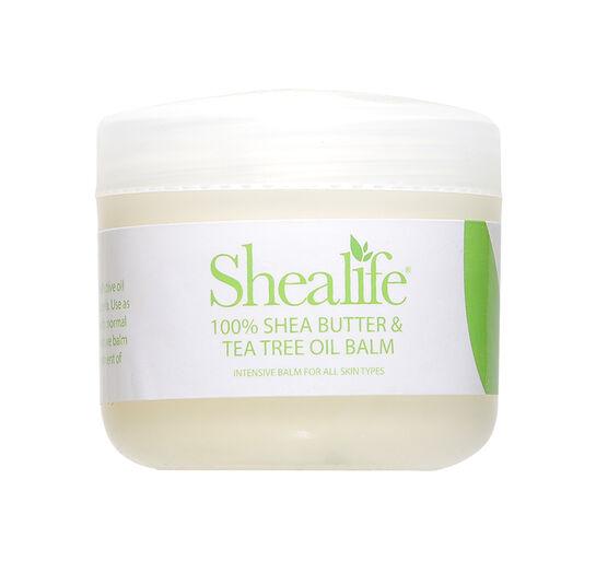 Shealife Shea Butter & Tea Tree Oil Balm 100g, , large