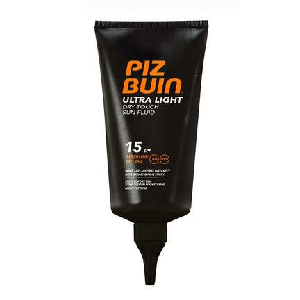 Piz Buin Utra Light Dry Touch Sun Fluid SPF15 150ml, , large
