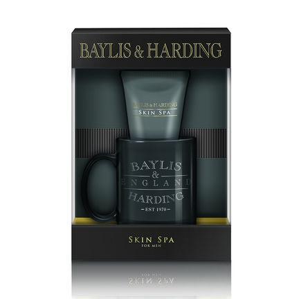 Baylis & Harding Skin Spa Amber & Sandalwood Mug Gift Set, , large