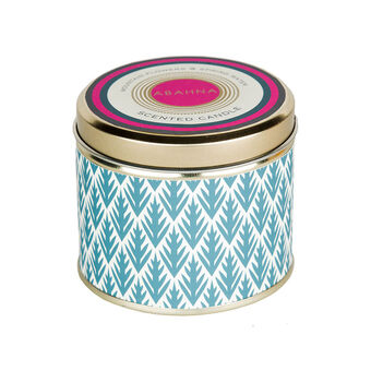 Abahna Mountain Flowers & Spring Water 3 Wick Candle 400g, , large
