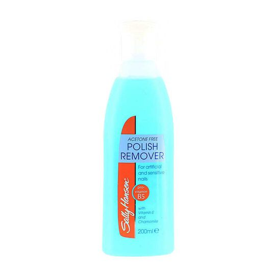 Sally Hansen Acetone Free Nail Polish Remover 200ml, , large
