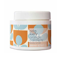 Orla Kiely Orange Caraway Body Scrub 200ml, , large