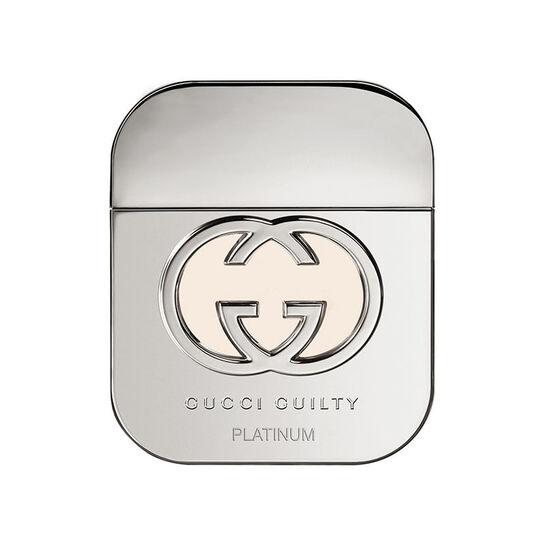 Gucci Guilty Platinum Eau De Toilette Spray 75ml + Free Gift, , large