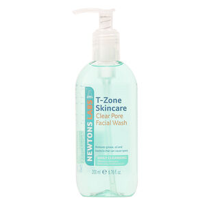 T Zone  Clear Pore Gel Facial Wash 200ml, , large