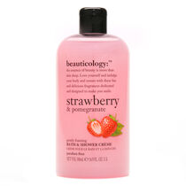 Baylis & Harding Beauticology Strawberry Bath & Shower Cream, , large
