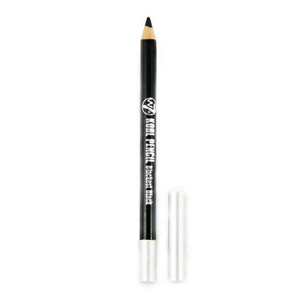 W7 Deluxe Gel Eye Pencil with Smudger 1.5g Blackest Black, , large